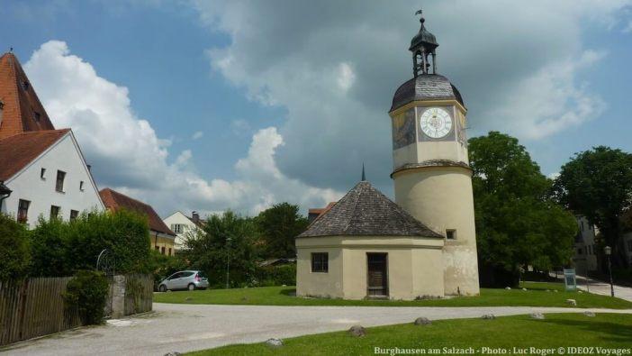 Burghausen am Salzach horloge