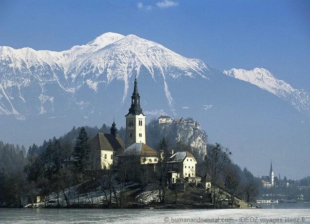 Eglise de Bled en Slovénie