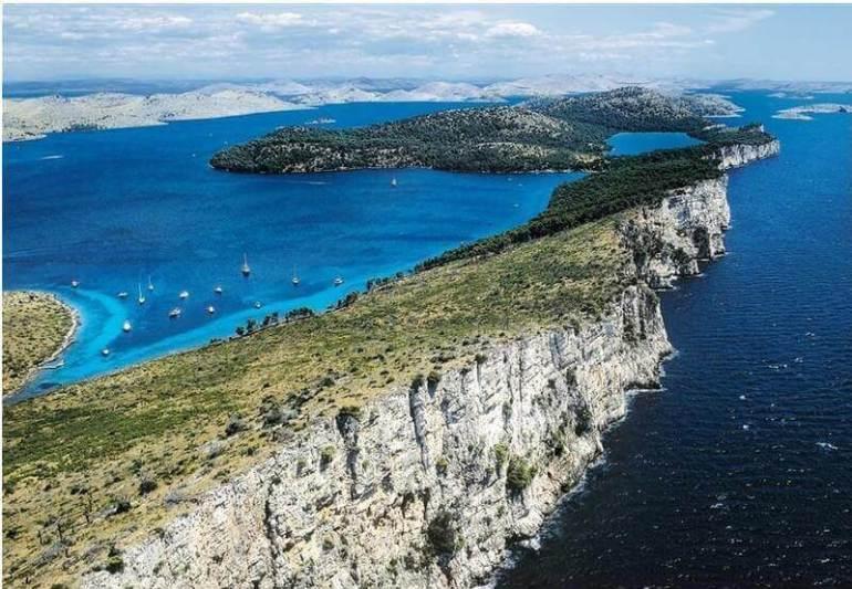 Ile Dugi otok en croatie