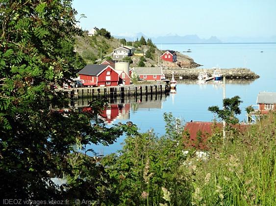 Lofoten Sørvågan village norvégien