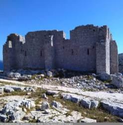 Parc national Kornati - Ancien monastère et temple Tureta