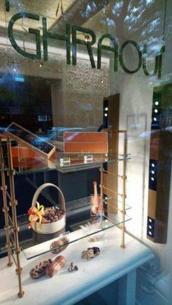 Chocolaterie Ghraoui Budapest vitrine