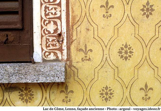 Lenno façade ancienne