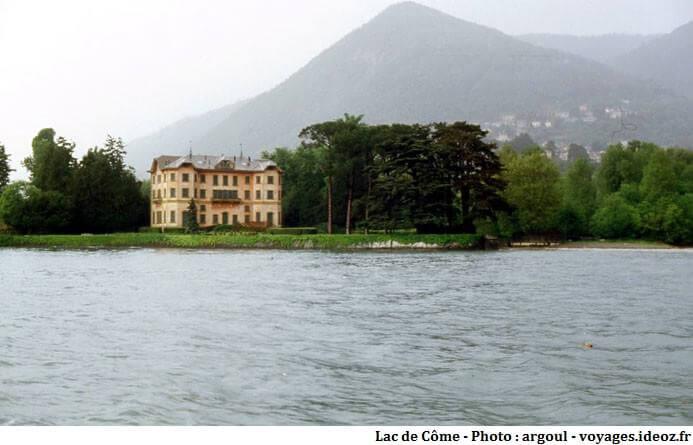 Villa Ninfea sur le lac de Côme