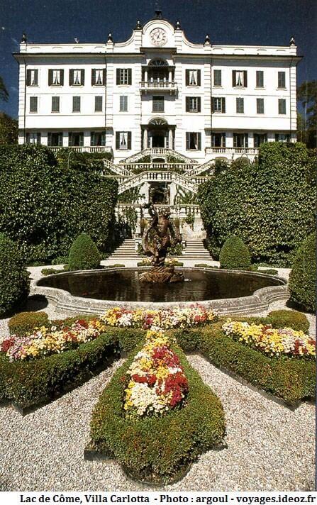 villa Carlotta l'une des plus fameuses du lac de Come