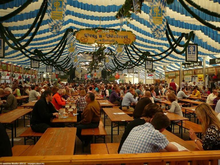 Fruhlingsfest de Munich Tente Bayernland