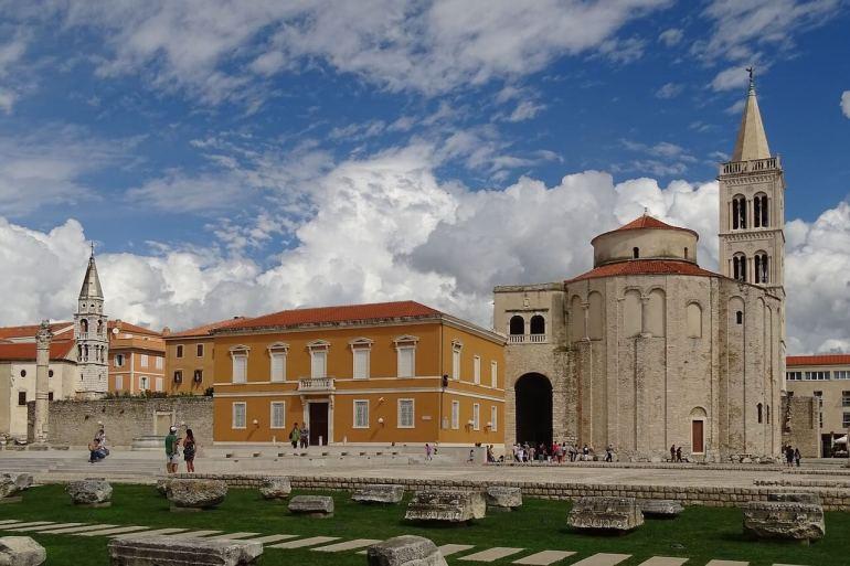 Zadar église saint Donatus et vestiges antiques
