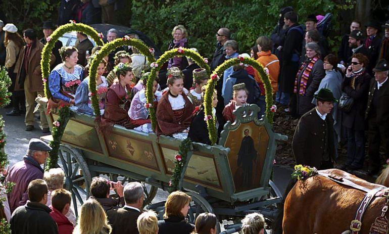 Fête de Saint Leonard en Baviere Leonhardifahrt