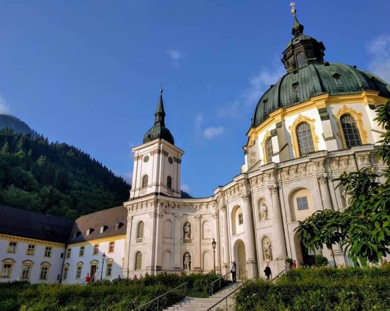 Abbaye Ettal en Haute Bavière dans le Ammergau