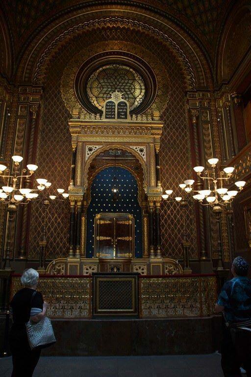 Torah de la Synagogue Vieille Nouvelle à Prague