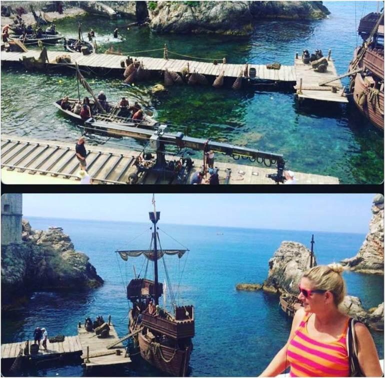 décors de game oh Thrones à Dubrovnik