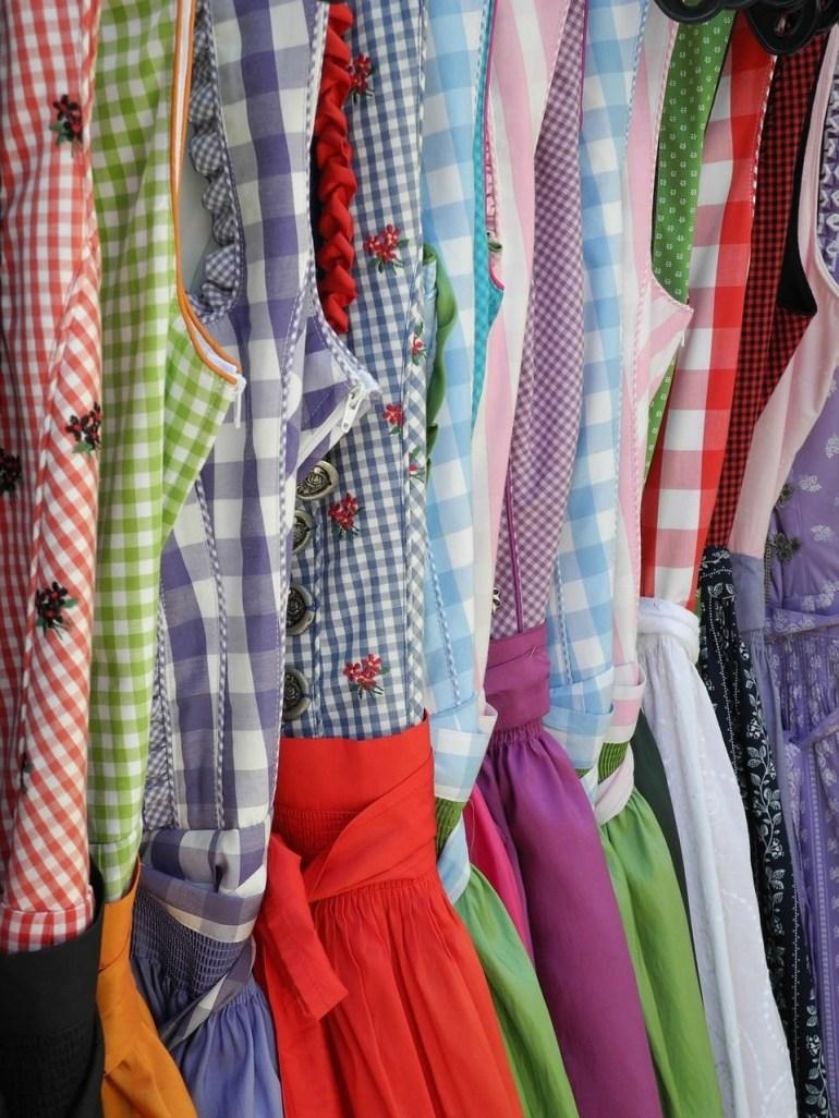 dirndln vêtements traditionnels bavarois pour femmes