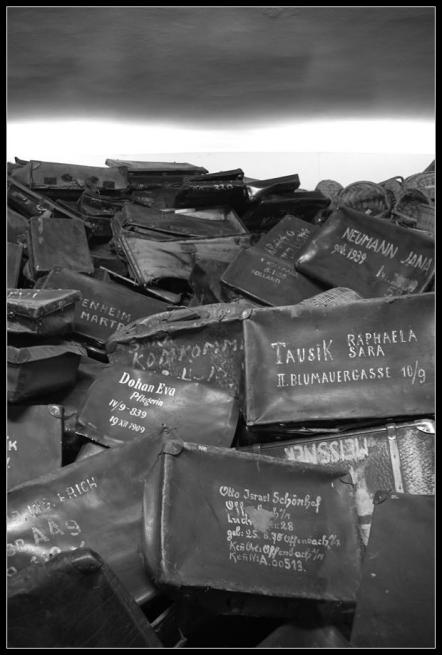 Camp d'Auschwitz Birkenau identification