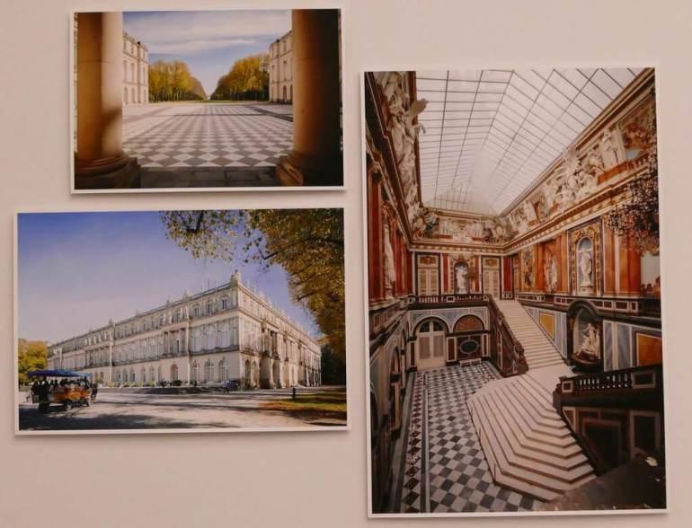 Exposition architecture sous louis ii de bavière palais Herrenchiemsee