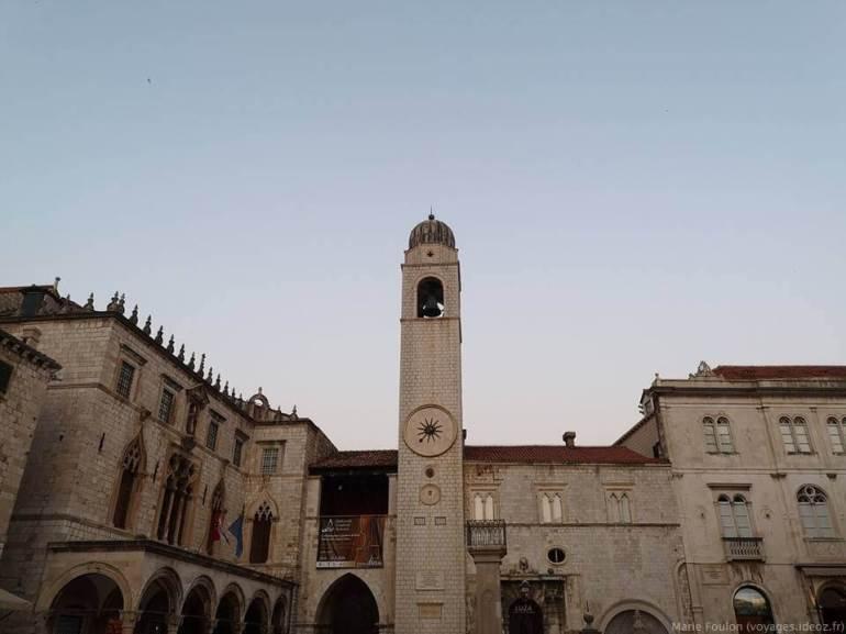 Place centrale de Dubrovnik