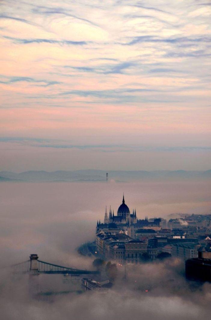 budapest dans le brouillard