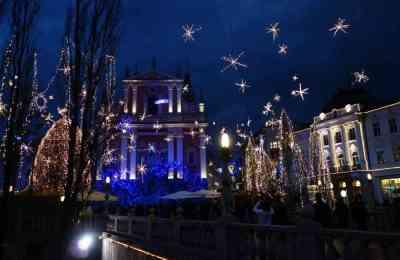 Marché de Noel de Ljubljana
