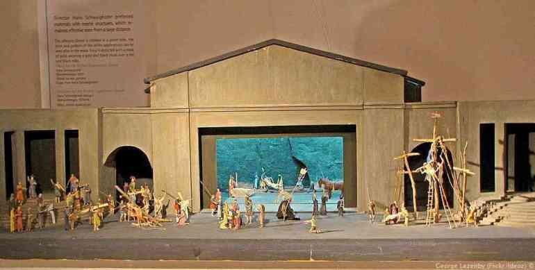 Scènes sur la vie du Christ au musée d'Oberammergau