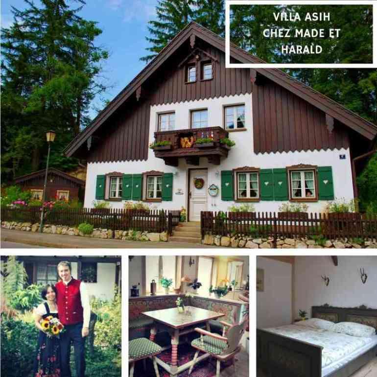 Villa Asih chez Harald et Made à Oberammergau