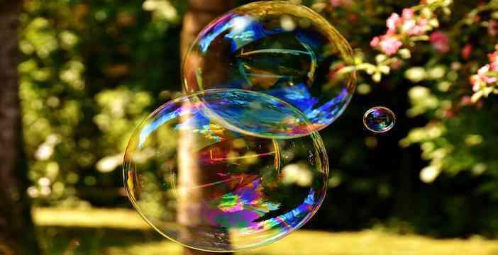 bulles de savon