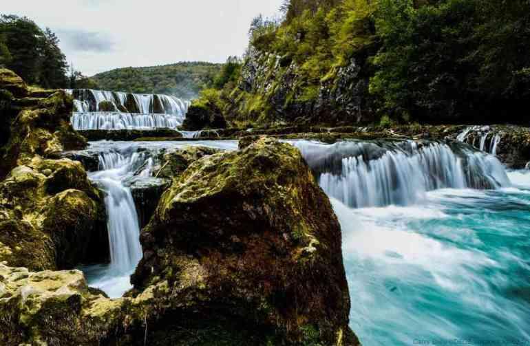 parc de Una en Bosnie Herzegovine