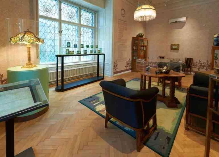 salon art nouveau villa György Ráth Budapest