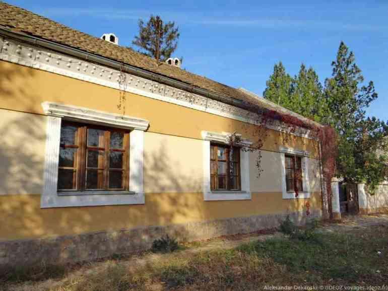 Krcedin maison dans le style de la région de voivodine