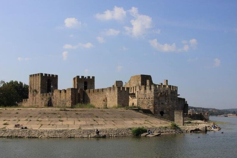 forteresse smederevo sur le danube