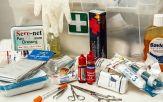 kit de premier secours en voyage
