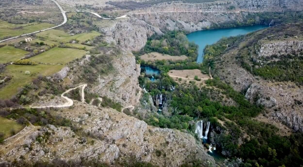 Cascades de la riviere Krka Manojlovac slapovi