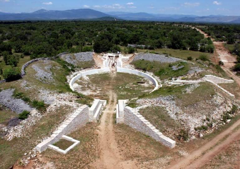 burnum camp militaire romain près de krka