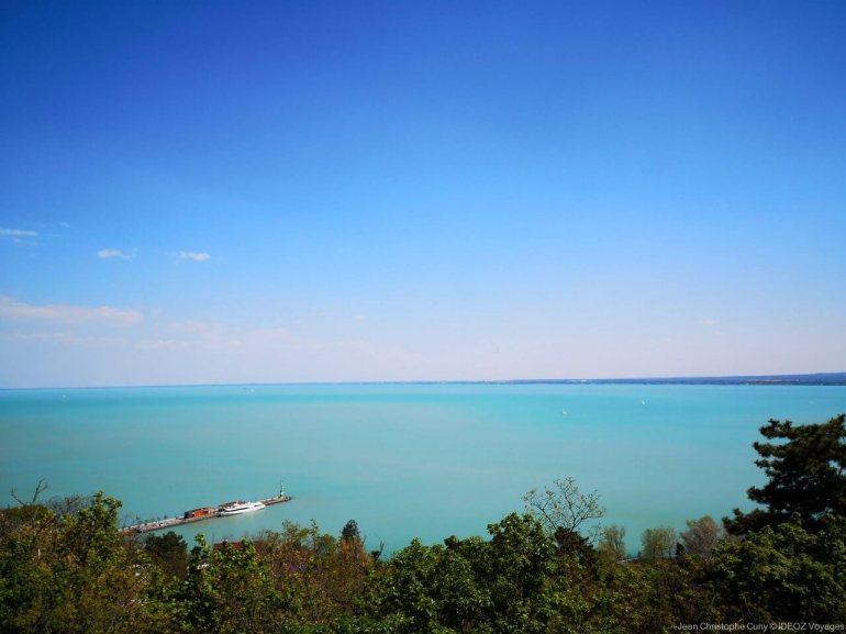 Tihanyi apátság sur le lac balaton
