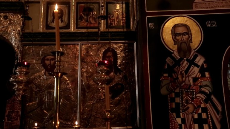 église du monastère de krka icones du choeur