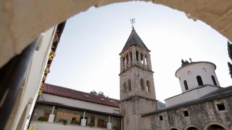 monastère Krka en dalmatie