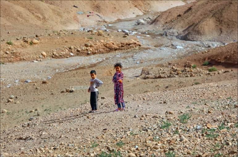 enfants nomades au maroc berbère