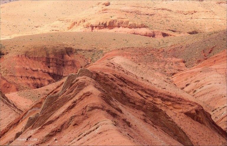 paysage du haut atlas vers M'gounna