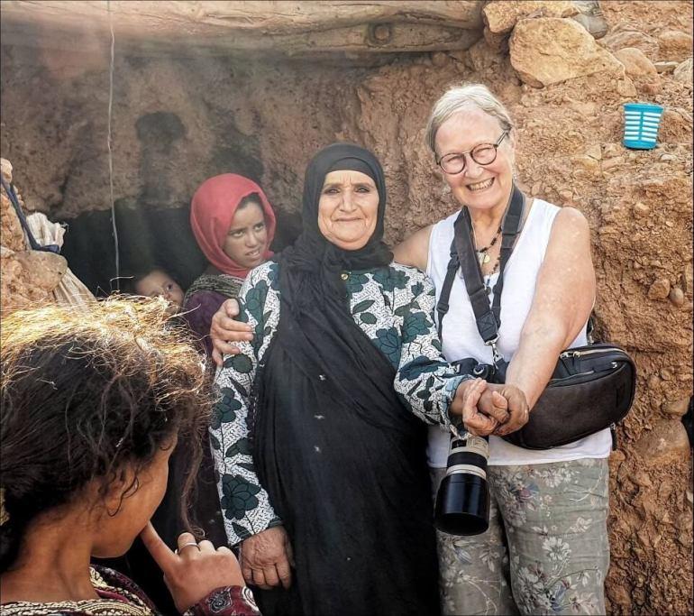 rencontre avec les nomades berbères des grottes au maroc