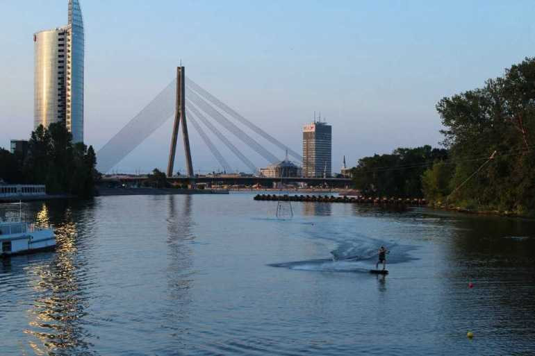 Pont Vanšu à Riga