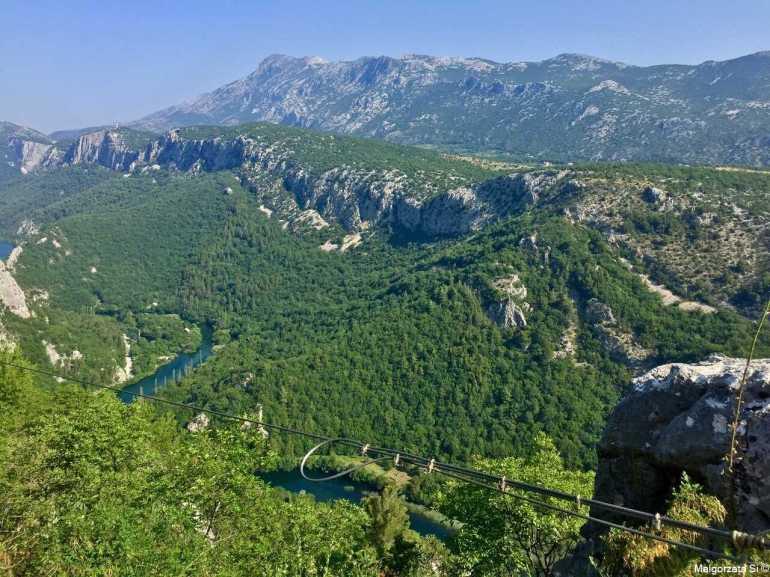 Tyrolienne et Canyon de Cetina à Omis, un concentré d'émotions fortes 5