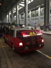 """Les """"Urban Taxi"""" rouges"""