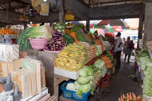 Bedugul - légumes