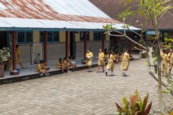 Besakih - enfants à l'école