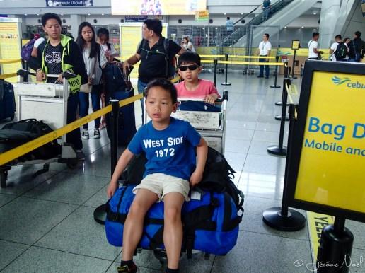 Aéroport Manille - checkin