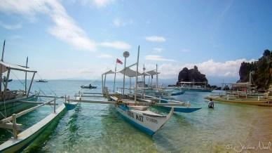 Apo Island - bangkas