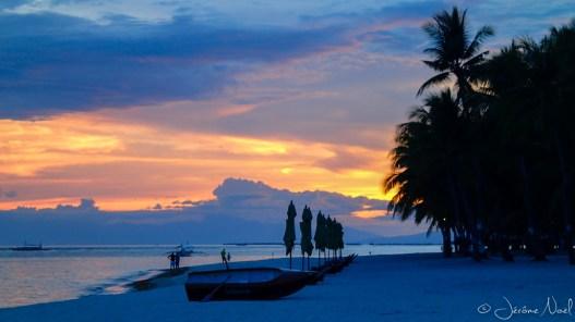Palm South Resort- coucher de soleil