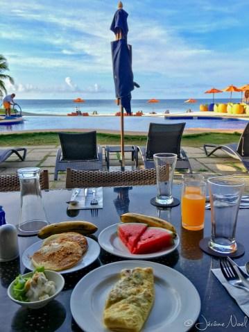 Palm South Resort- Ptit dej