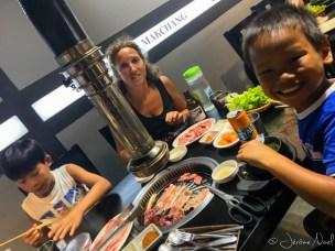 BBQ coréen, hum