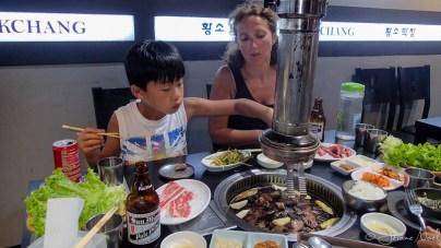 BBQ coréen, miam