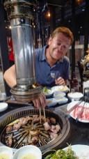 BBQ coréen, trop bon