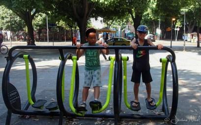 Largo do Machado, un peu de sport